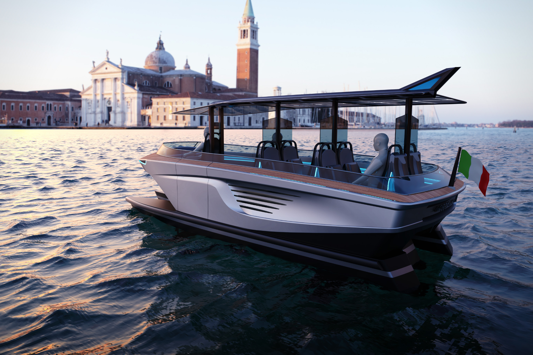 Immagina una Venezia senza onde