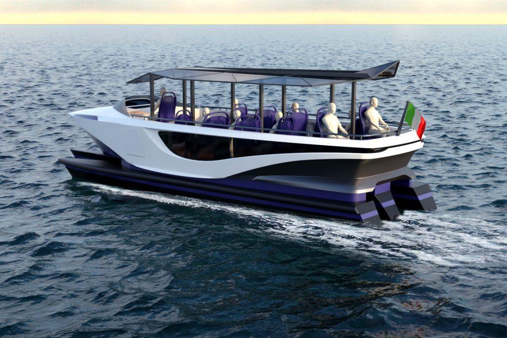 Navetta 38' - new shuttle model