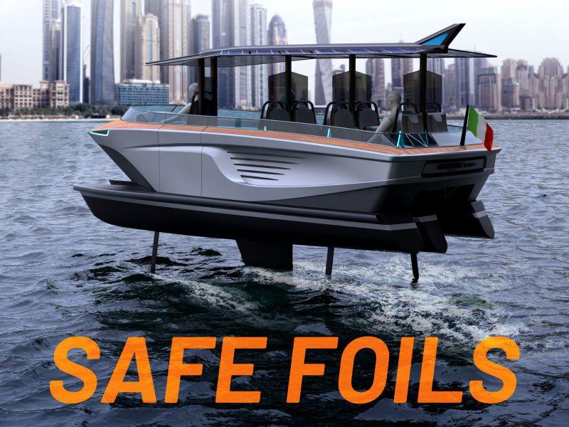 Gerrisboats: high-tech hulls and Safe Foils