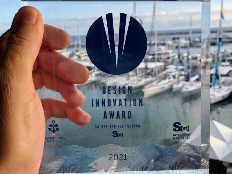 Premio Design Innovation Award 2021 al Salone Nautico di Genova 2021