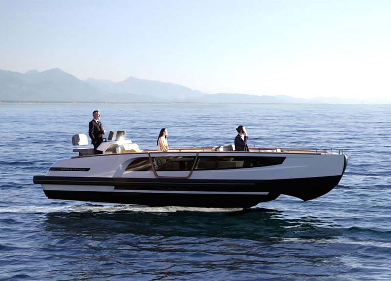 GerrisTender, the first nautical application of GerrisBoats